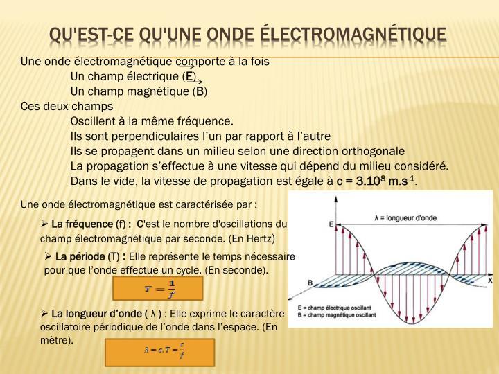 Ppt les ondes lectromagn tiques powerpoint presentation id 4862627 - Qu est ce qu un vide sanitaire ...