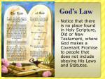 god s law