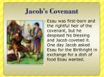 jacob s covenant