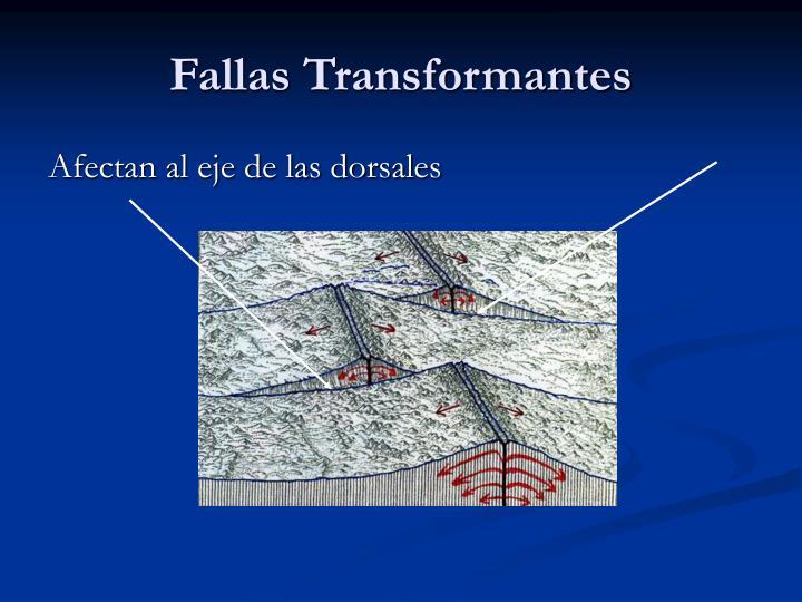 Fallas Transformantes