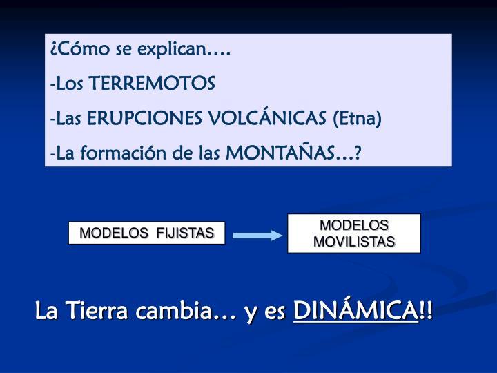 MODELOS  MOVILISTAS