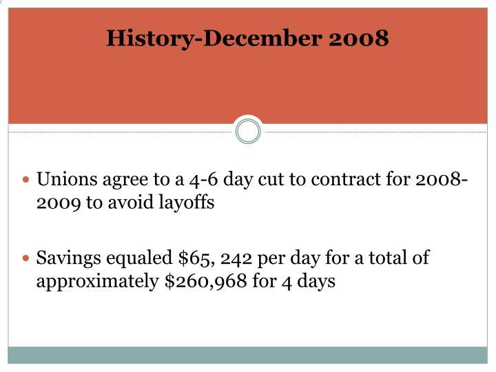 History-December 2008