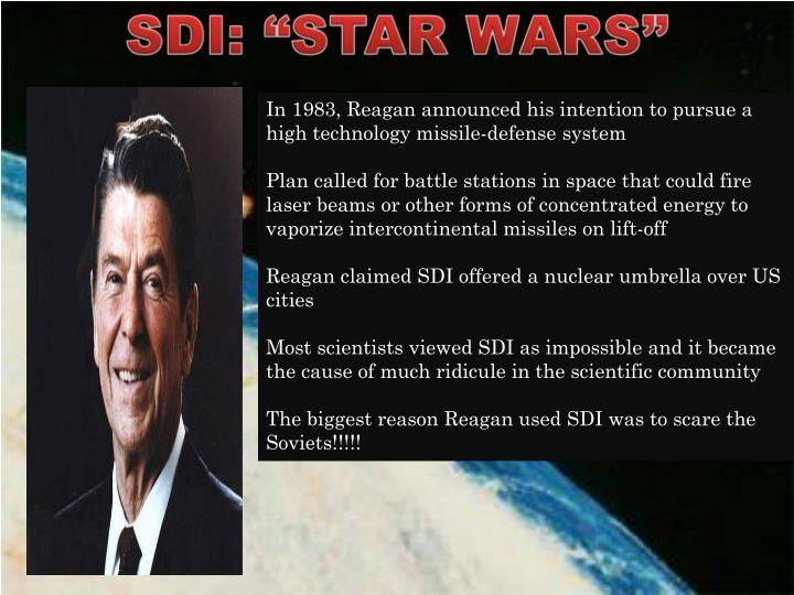 """SDI: """"STAR WARS"""""""