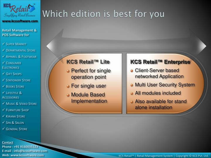 Which edition is best for you