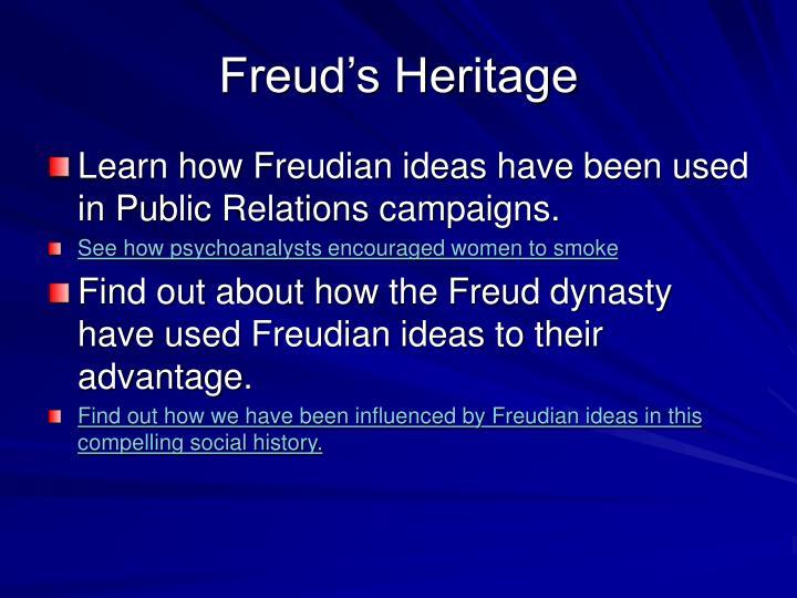 Freud's Heritage