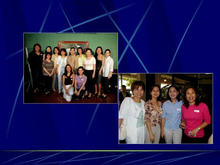Manila polo club reunion hosted by sen loren legarda