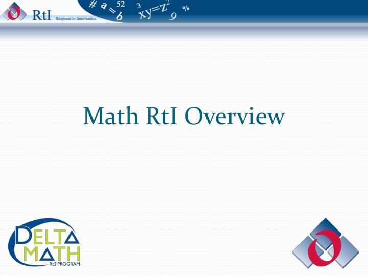 math rti overview n.