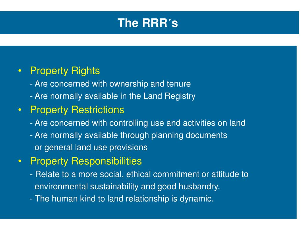 Land Registry Restrictions >> Ppt Land Management And Spatial Enabled Government Prof