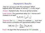 asymptotic results1
