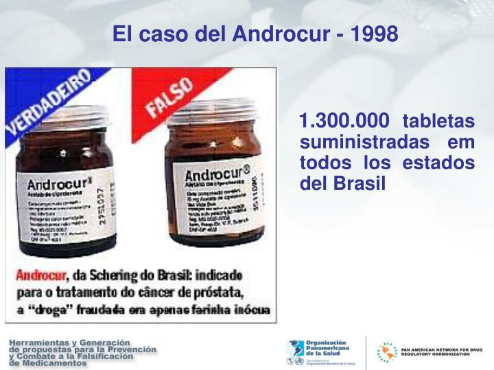 El caso del Androcur - 1998