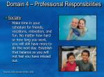 domain 4 professional responsibilities4