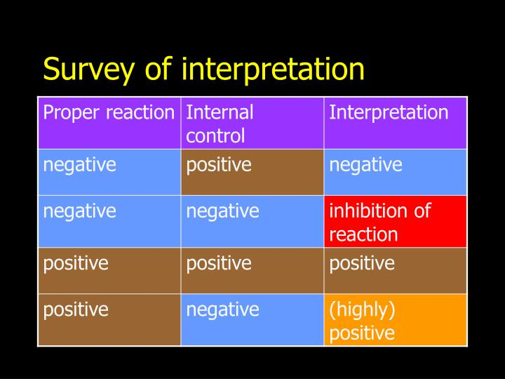 Survey of interpretation
