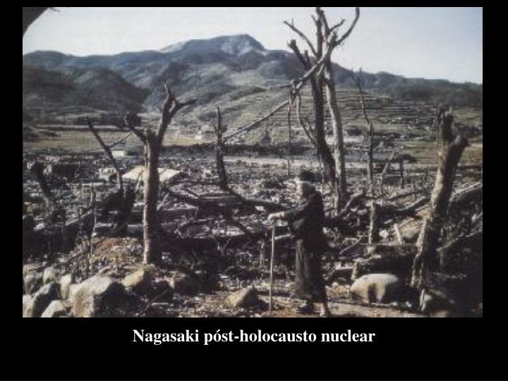 Nagasaki póst-holocausto nuclear