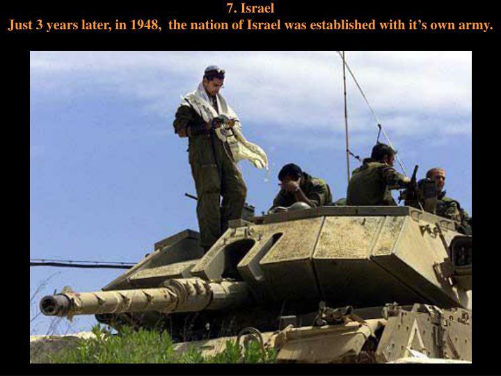 7. Israel