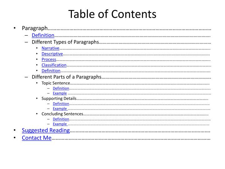 what is a narrative paragraph definition