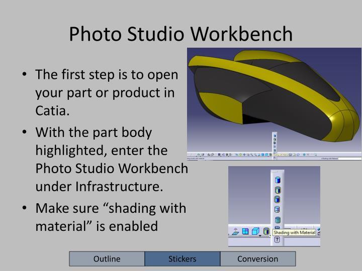 Photo Studio Workbench
