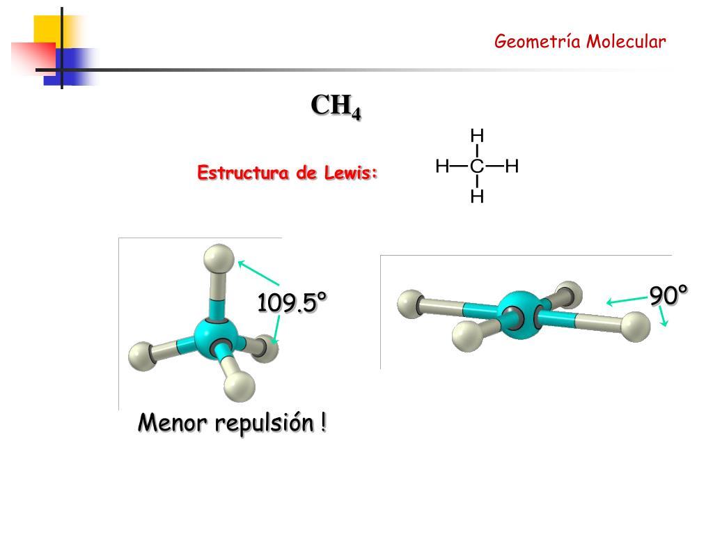 Ppt Geometría Molecular Powerpoint Presentation Free