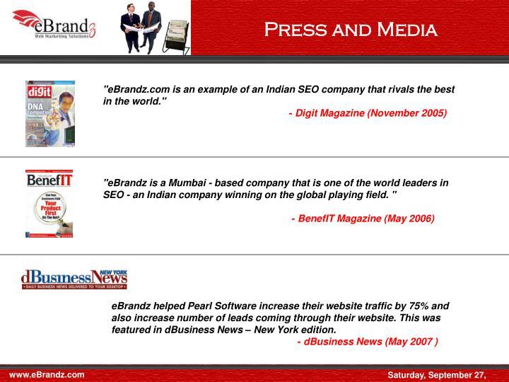 Press and Media