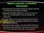 agents culturals i ciutadans interessats