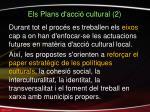 els plans d acci cultural 2