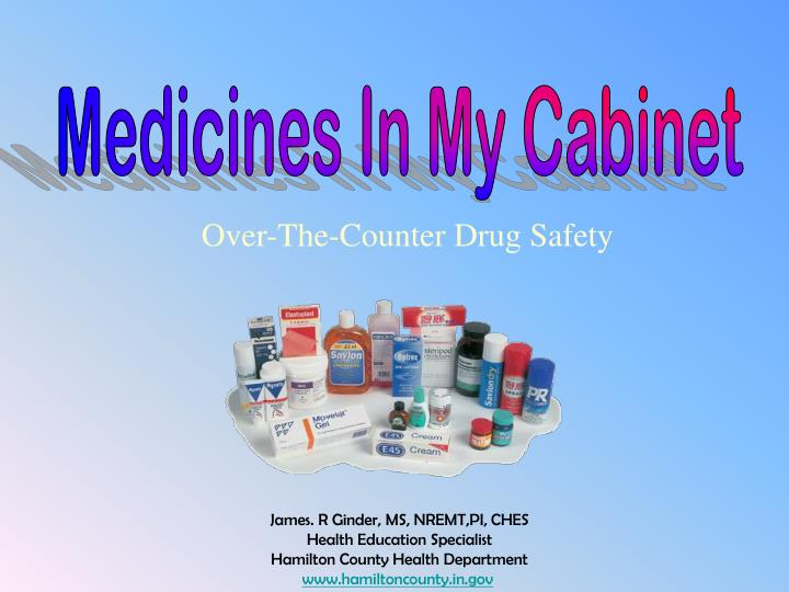 PPT - Over-The-Counter Drug Safety PowerPoint Presentation - ID:4866205