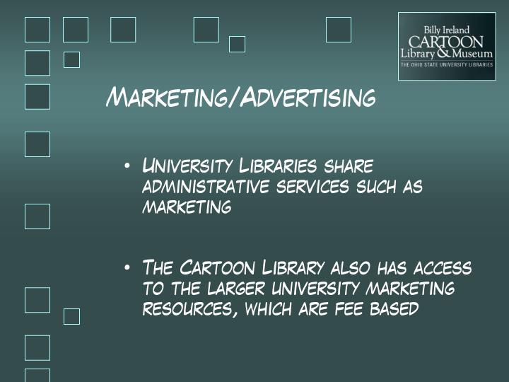 Marketing/Advertising