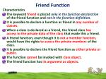 friend function6