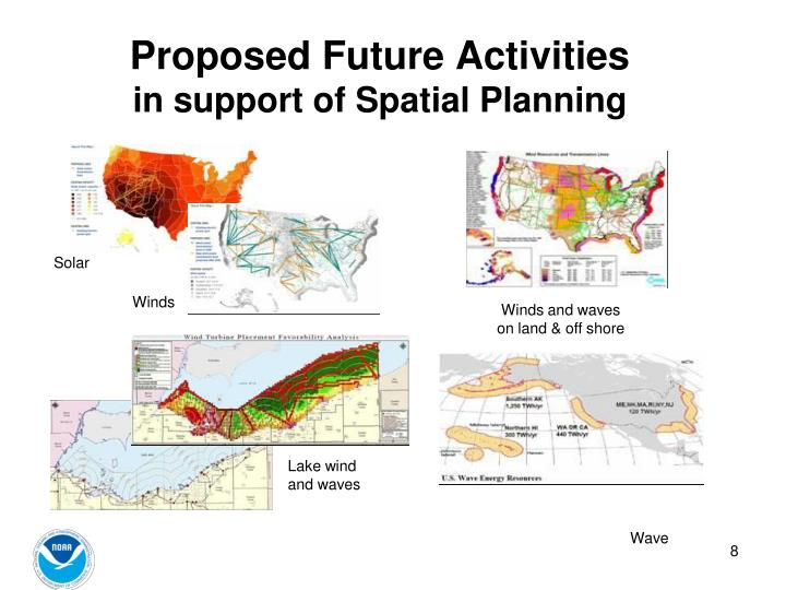 Proposed Future Activities