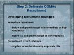 step 2 delineate ogmas recruitment1