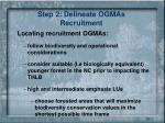 step 2 delineate ogmas recruitment2