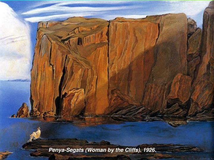 Penya-Segats (Woman by the Cliffs). 1926.