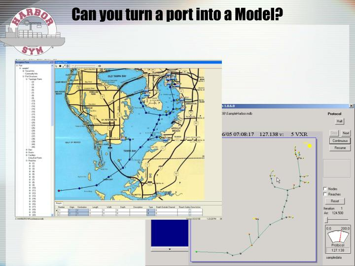 Can you turn a port into a Model?