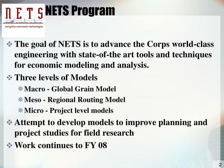 Nets program