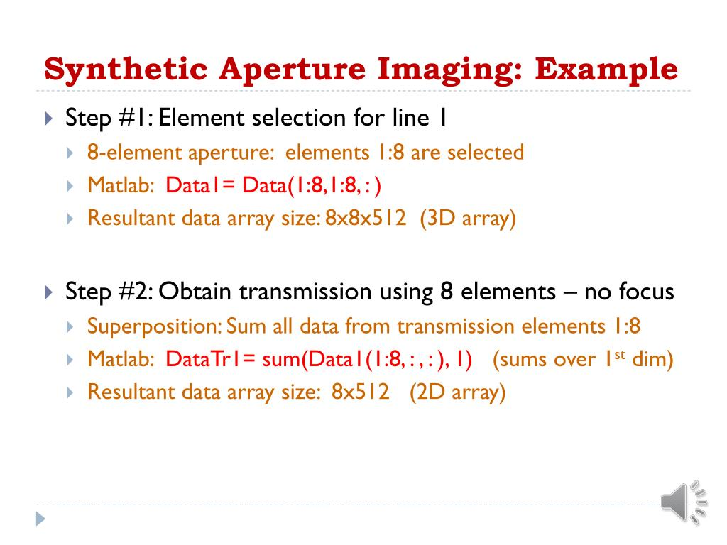 PPT - Medical Image Reconstruction Topic 5: Synthetic