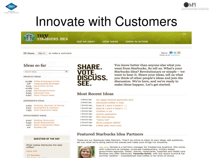 Innovate with Customers