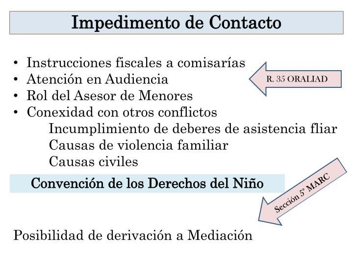 Instrucciones fiscales a comisarías