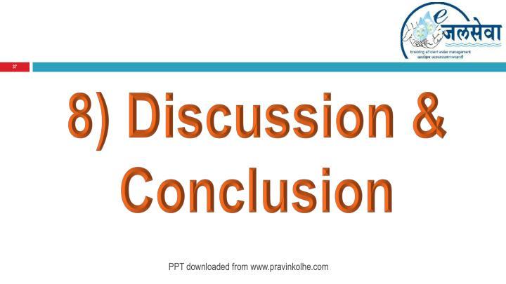 8) Discussion & Conclusion