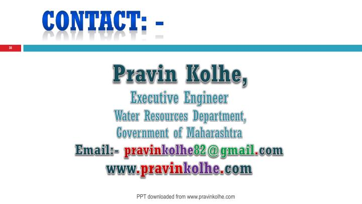 Contact: -