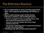 the reformers reaction
