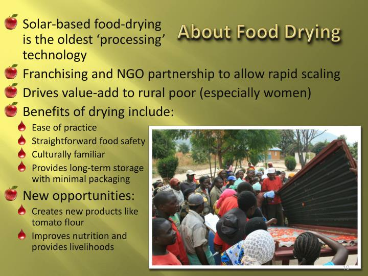 About Food Drying