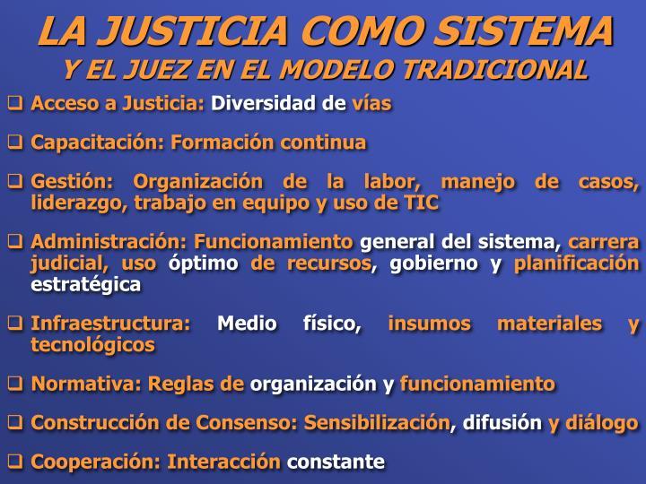 Acceso a Justicia: