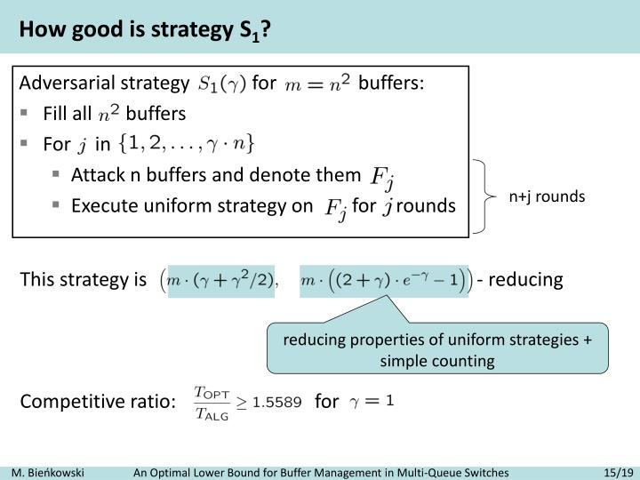 How good is strategy S
