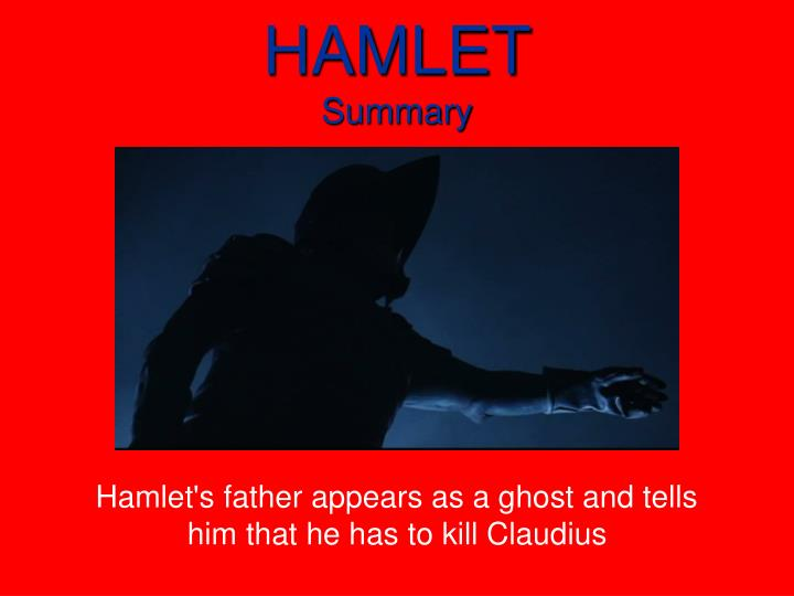 "hamlets drive to kill claudius The father's ghost returns from the dead to accuse claudius, his brother, of murdering him and commands hamlet to kill claudius in revenge ""the time is out of joint like hamlet, dale jr had the advantage of the people's love, manifested in 13 straight nascar's most popular driver awards but also like."