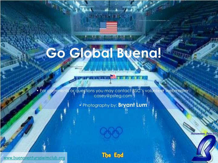 Go Global Buena!