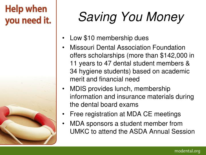 Saving You Money