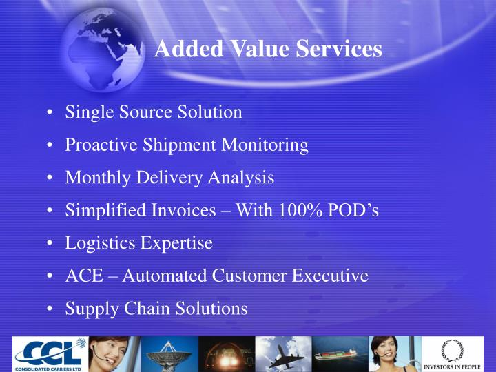Added Value Services