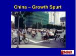 china growth spurt