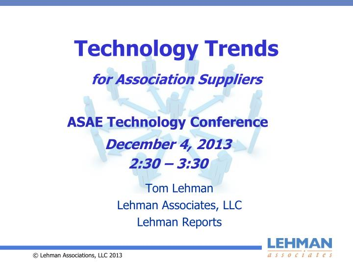 technology trends for association suppliers n.