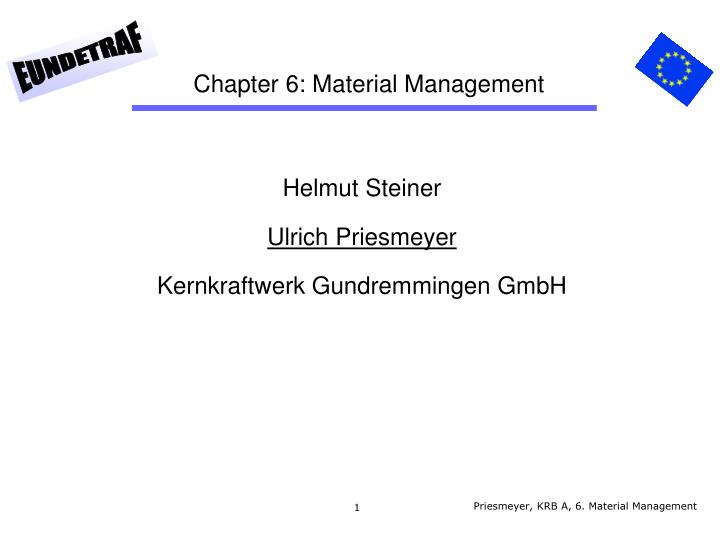 chapter 6 material management n.