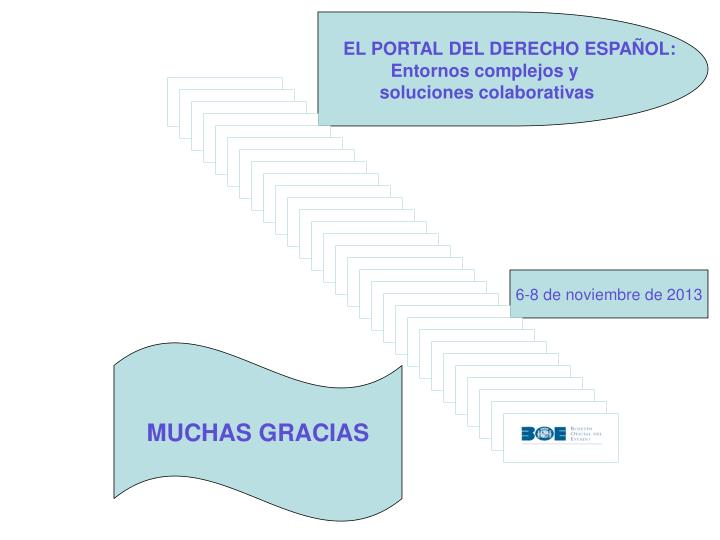 EL PORTAL DEL DERECHO ESPAÑOL: